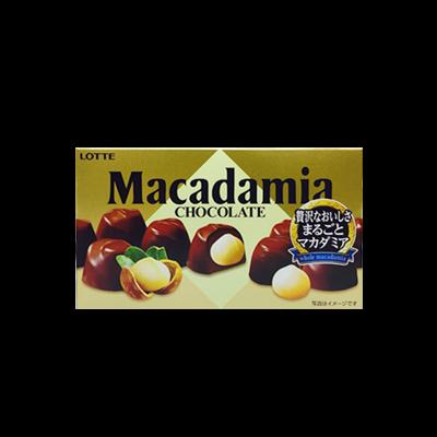 【コンビニ限定】ロッテ マカダミアチョコレート
