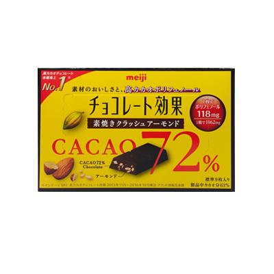 【全国のローソン限定】明治 チョコレート効果 カカオ72% 素焼きクラッシュアーモンド を買ってコインGET!