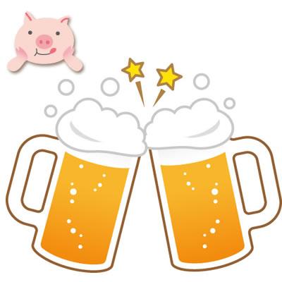 【本郷店、六本木店、セントラルロード店限定】生ビール1杯(or お好きなドリンク1杯)